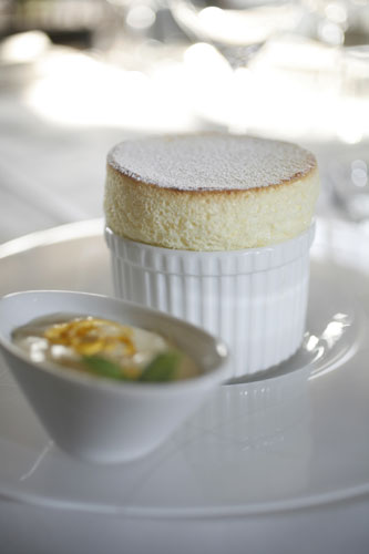 Lemon Soufflé at Estate House, Scottsdale