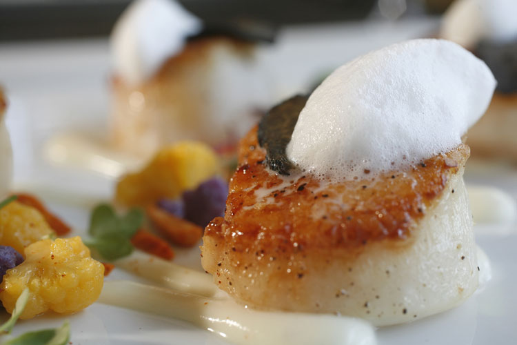 Scallops at Four Seasons, Scottsdale