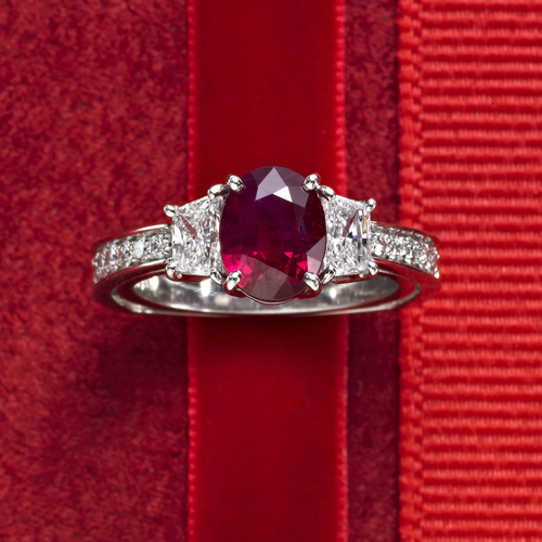 Ruby and Diamond Ring - Molina Fine Jewelers