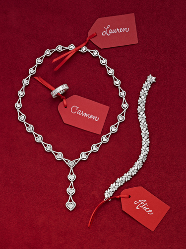Diamond Necklace, Bracelet and Ring - Molina Fine Jewelers